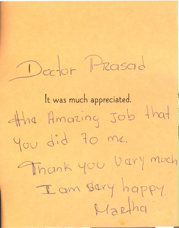 reviews for Dr. Amiya Prasad