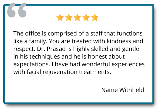 patient review on facial rejuvenation