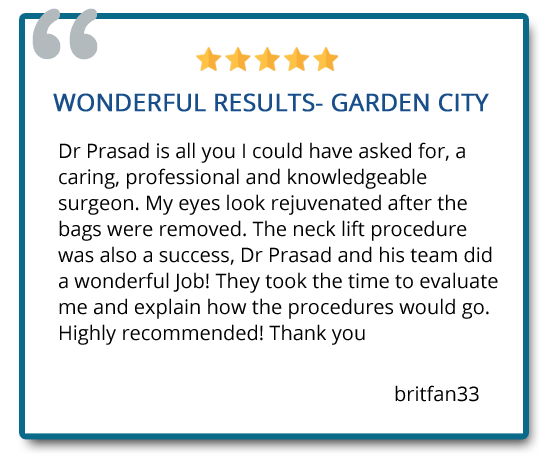 patient review on neck lift procedure