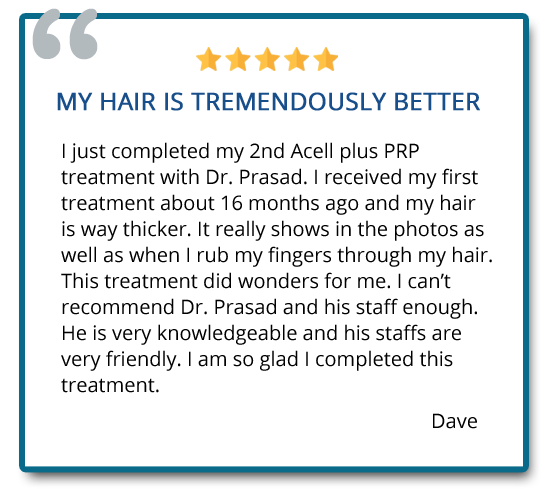 patient reviews on hair regeneration